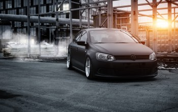 vw,stance,bagged,6r,polosedan,Volkswagen,airlift