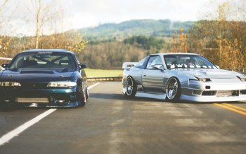 s14,180sx,zenki,jdm,together