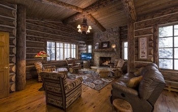 Wooden,home,colorado,living room,Blue sky lodge,Luxury