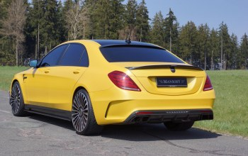 Mansory,тюнинг,yellow,carbon,mercedes