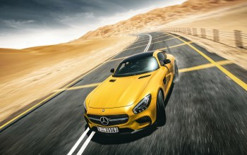 supercar,desert,gt s,yellow,Road