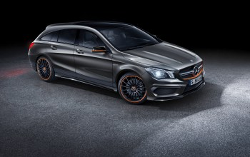 x117,mercedes,orange art,cla 45,2015,shooting brake