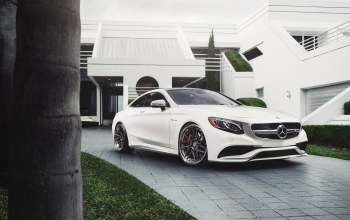 hq wallpaper,car,Mercedes s63,White,william stern