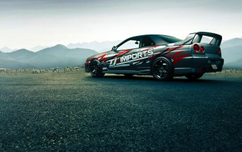gtt,sport,Japan,Race,car,rear,skyline