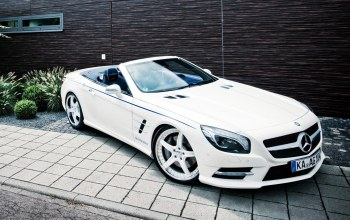 wallpapers,White,car,roadster,sl 63