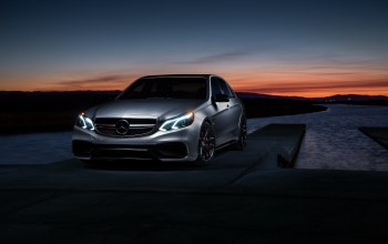 e63,amg s,matte,carbon,mode,motorsport,Sunset,car,grey,sonic