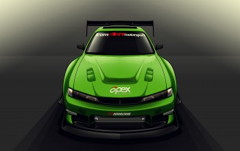 s14,drift spec vector,by edcgraphic