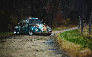 volkswagen beetle,vw,car,rat rod