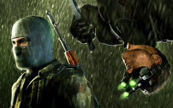 спецагент,Splinter cell,нож,террорист,chaos theory