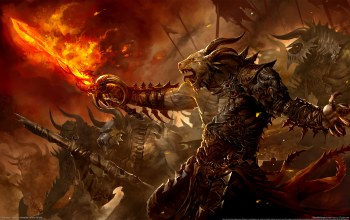 призыв,Guild wars 2,fire