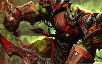wow,orc,world of warcraft,крик,trading card game
