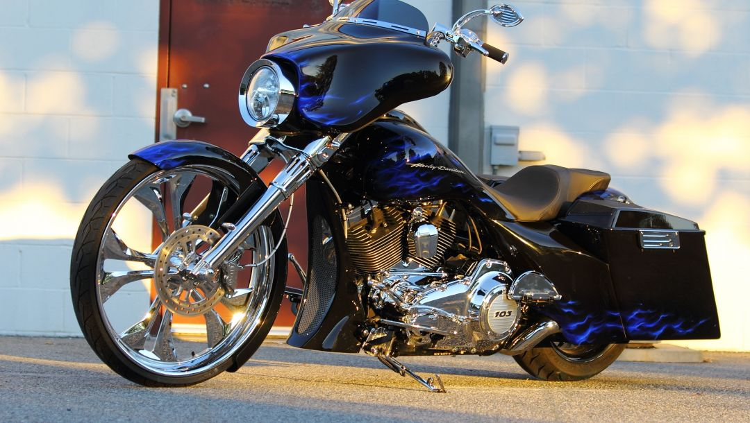 Байк,Мотоцикл,Harley davidson,CUSTOMIZED STREET GLIDE