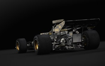 lotus 72d,studio rear