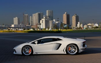 Lamborghini,wheels,White