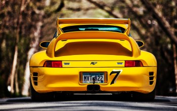 ctr2,Road,back,993,yellow,ruf,porsche,911