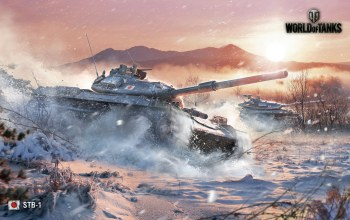 World of tanks,stb-1