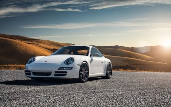 Porsche 997,carrera s,car,White