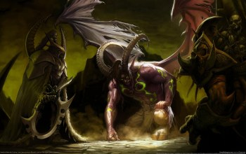 illidan,дьявол,world of warcraft,черт,wow