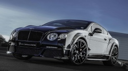 gt,bentley,black,continental,tuning,Onyx,Front