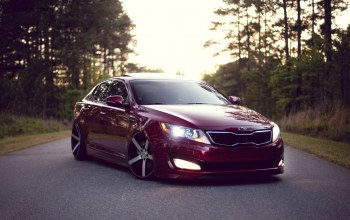 киа,wood,clean,Kia optima,stance,Road,оптима