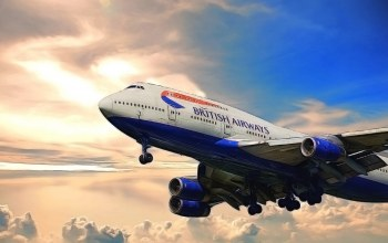British airways,jumbo jet,boeing,747