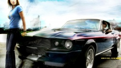 mustang,женщина,driver,Ford,мужчина