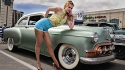 classic,Pinup,Girls and Cars