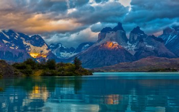 patagonia,landscape,mountains,clouds,argentina