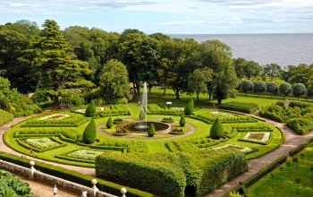 национальный парк,Dunrobin Castle gardens UK