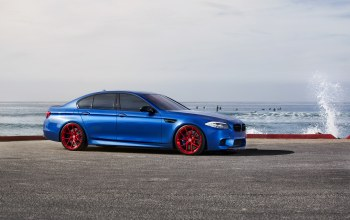 f10,Bmw,Red,синий,wheels,monte carlo blue