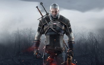 ведьмак 3: дикая охота,геральт,Geralt,медальон,ведьмак,борода,Анджей Сапковский,шрам,the witcher,cd projekt red