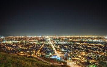 The south bay,california,lights,los angeles,лос-анджелес