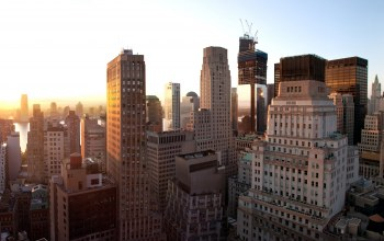 Nyc,Sunset,lower manhattan,United states,new york,new york city