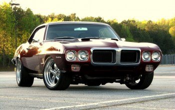 dark red,firebird,pontiac,1969,понтиак,фаерберд,Sunset