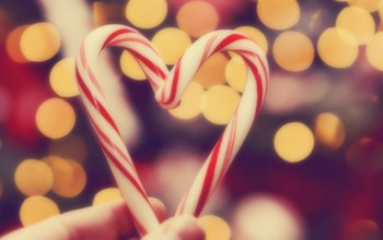 christmas,heart,holiday,lights,bokeh,colourful,sweet