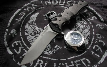 ткань,нож,knives & wristwatch