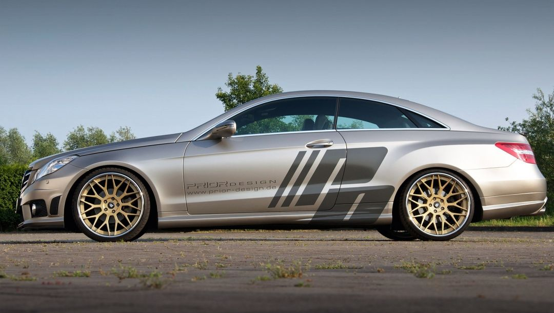 prior design,mercedes e-class coupe c207