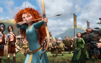 pixar,bow competition,princess,film,the movie,king,scotland,queen,Brave
