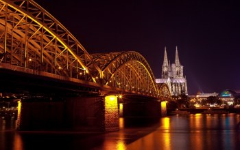 hohenzollern bridge,hohenzollernbr¬cke,cologne cathedral