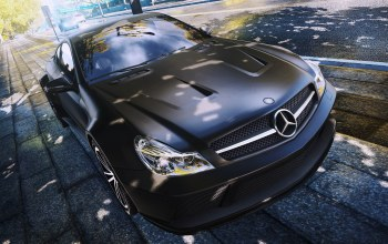Need for speed most wanted 2,black series,ракурс,mercedes