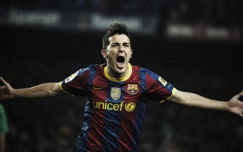 David villa,barcelona wallpapers,давид виллья