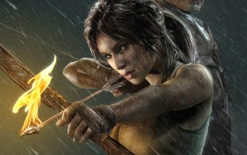 ogony,game,girl,igra,tomb raider,lara kroft,strela