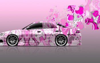 Самурай,el tony cars,aerography,Soft Image,Мягкий,марк2,Tony kokhan,аэрография,Pink Colors,photoshop,Цвет,jzx90,girl,тойота,jdm,Тони Кохан