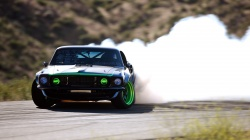 Ford mustang,drift,дрифт,дым,sport,форд,занос