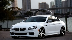 белая,car,Vossen,White,6 series,Bmw,tuning,wallpapers,обоя,автомобиль