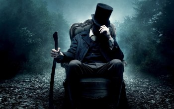 Abraham lincoln,vampire hunter,цилиндр,топор