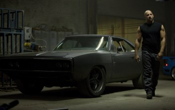 Muscle,vin diesel,1970,charger,car,dodge,fast five