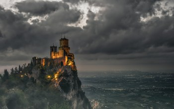 fog,Night photography,Nightscape,hd,Fujifilm,Daniele Rossi,san marino,landscape