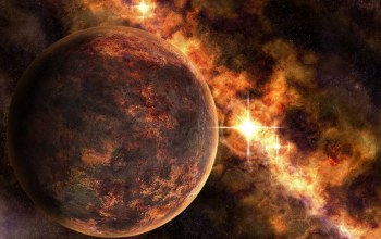 space,artwork,planets