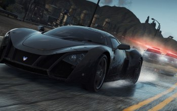 погоня,брызги,Гонки,Marussia b2,Need for speed most wanted 2,еа